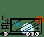 System wymiennej reklamy - TRAXX